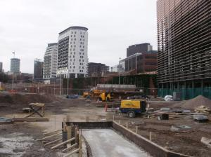Eastside Park Under Construction