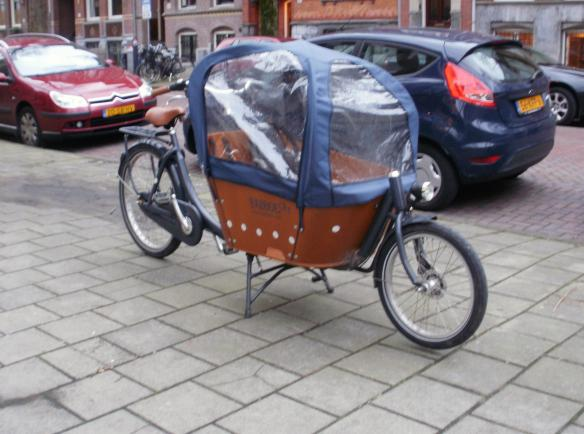 innovative bike - baby carrier