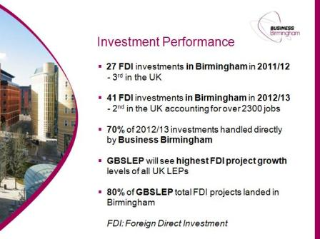 FDI Business Birmingham June 2013